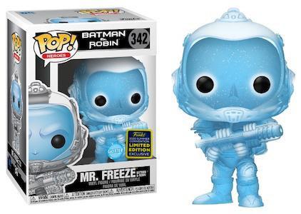 DC Mr. Freeze Diamond Glitter Pop! Vinyl