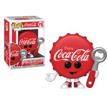 Coca-cola Bottle Cap Pop! Vinyl Figure
