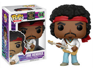 Rocks Jimi Hendrix Pop! Vinyl Figure