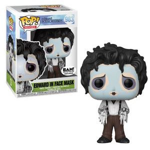 Edward Scissorhands in Face Mash Pop! Vinyl Figure