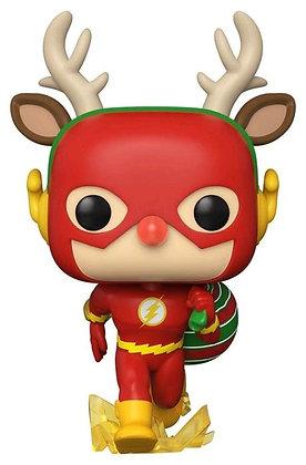DC Flash Rudolph Holiday Pop! Vinyl Figure