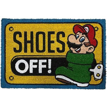 Super Mario Bros. Shoes Off Coir Doormat