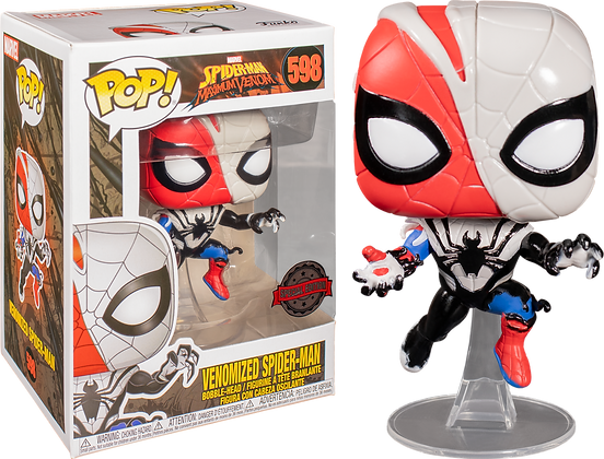 Marvel Venomized Spider-Man Pop! Vinyl Figure