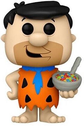 Flintstone Fruity Pebbles- Fred with Cereal Pop! Vinyl Figure