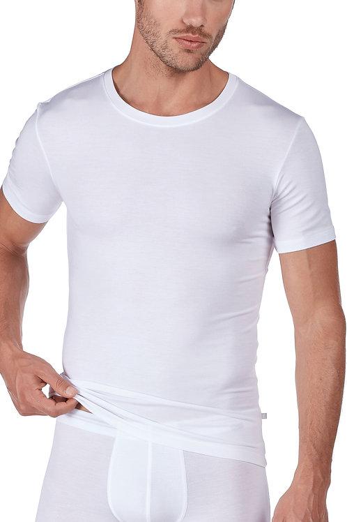 """Huber """"hautnah Soft Modal"""" Herren Shirt Kurzarm"""