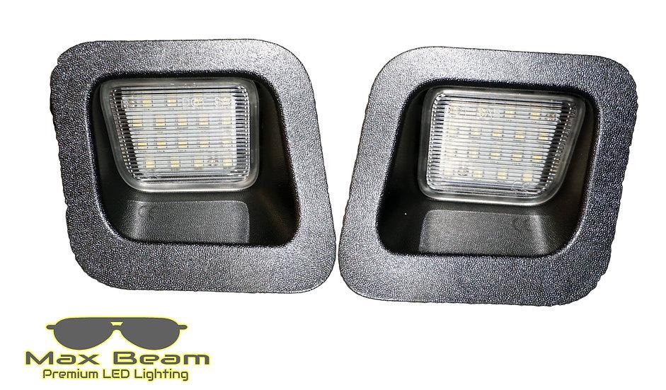 MaxBeam Brightest License Plate LED 6000k (RAM Trucks)