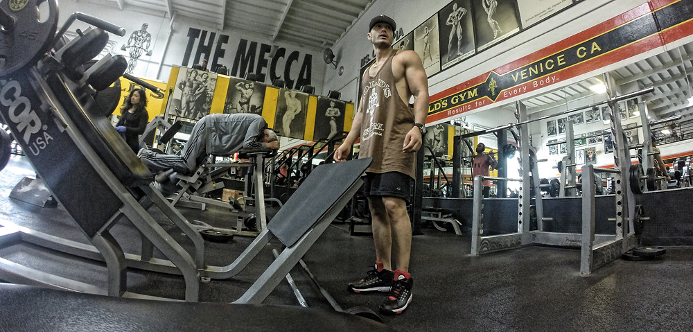 darwin reina golds gym