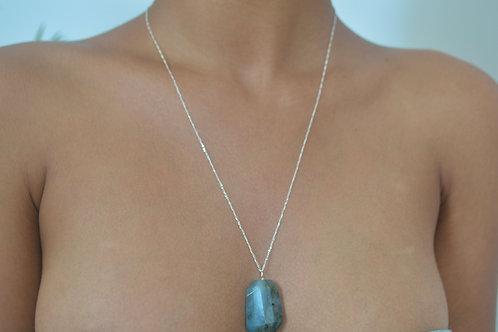 Silver & Labradorite