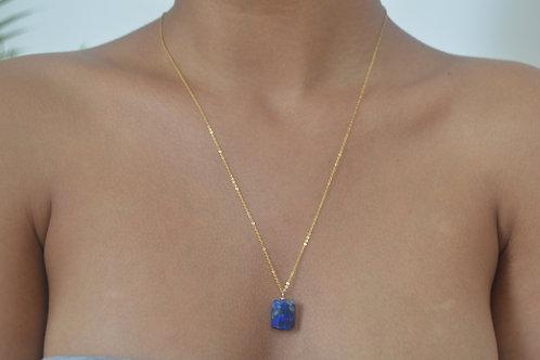 14K Gold & Lapis Lazuli