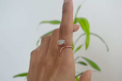 Copper Moon ring