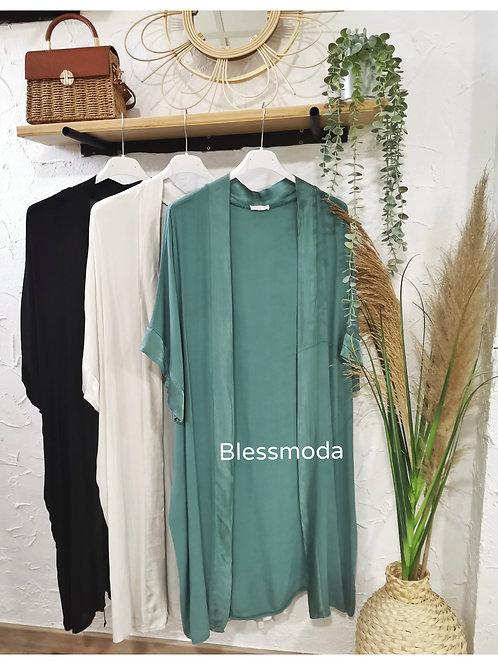 Kimono Largo liso