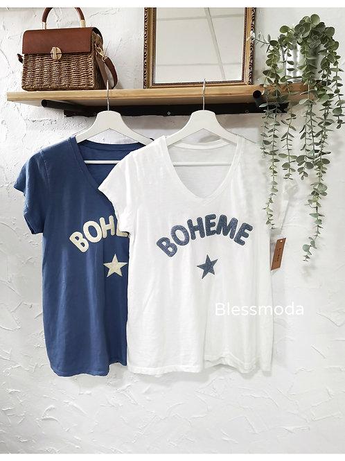 Camiseta Bohéme