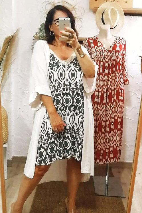 Dress Étnico Crochet