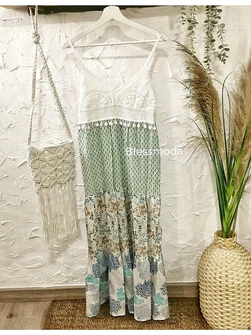 Dress Crochet estampado