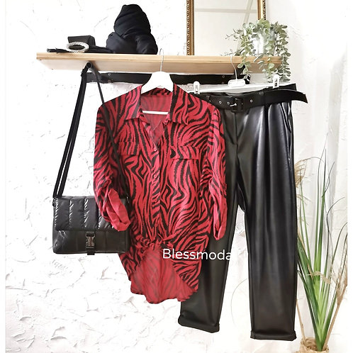 Pantalón ecopiel