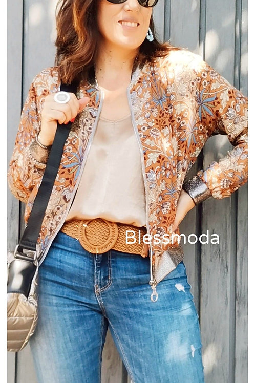 Bomber Gold  Brown