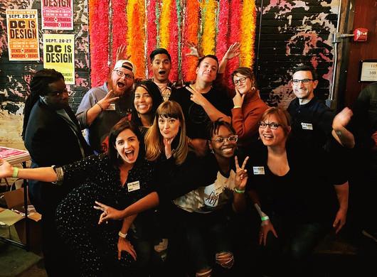AIGA DC Board at DC Design Week