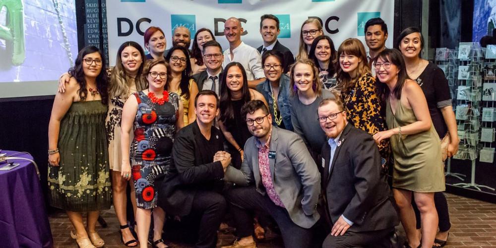 AIGA DC Board at 2018 AIGA 50 Gala