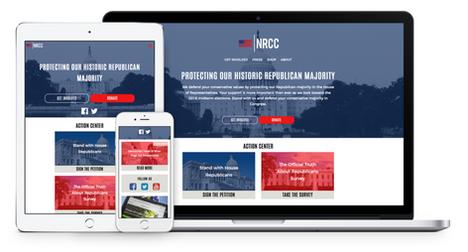 NRCC Website Redesign (2017)
