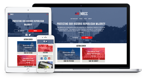 NRCC Website Redesign (2017)