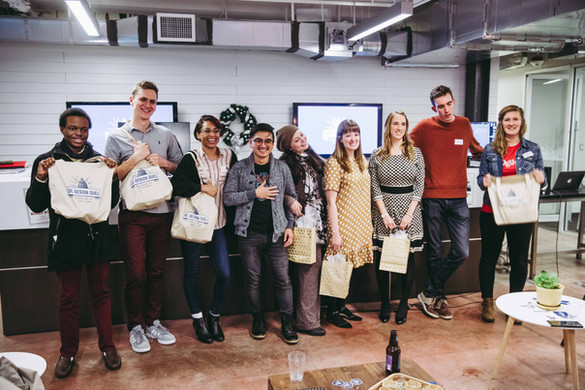 DC Design Duel Contestants with Judges