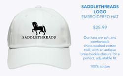 Saddlethreads Embroidered Hat