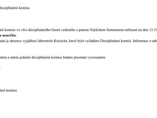 Disciplinární komise 2. kolo