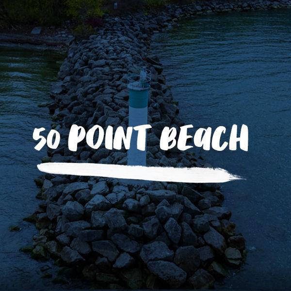 50 Point Beach Day