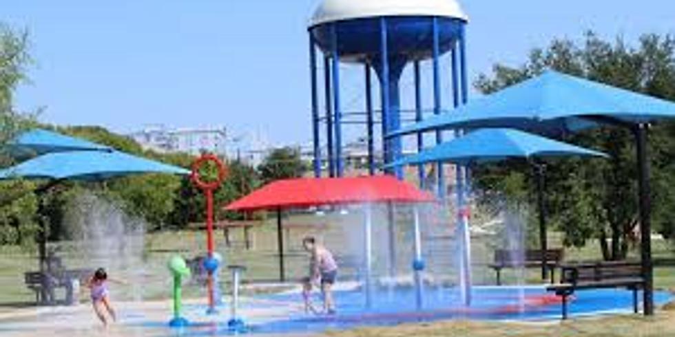 Splash Pad at Dewey Park