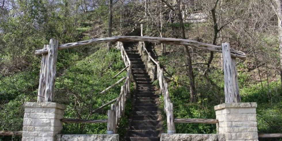 Hiking at Jacob's Ladder