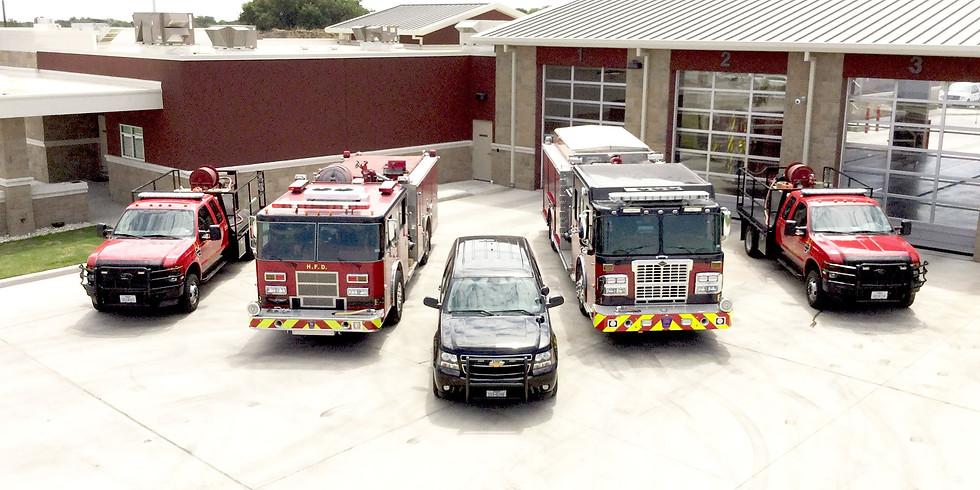 Hewitt Fire Department Tour