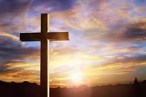 crucifix-cross-sunset-background-crucifi