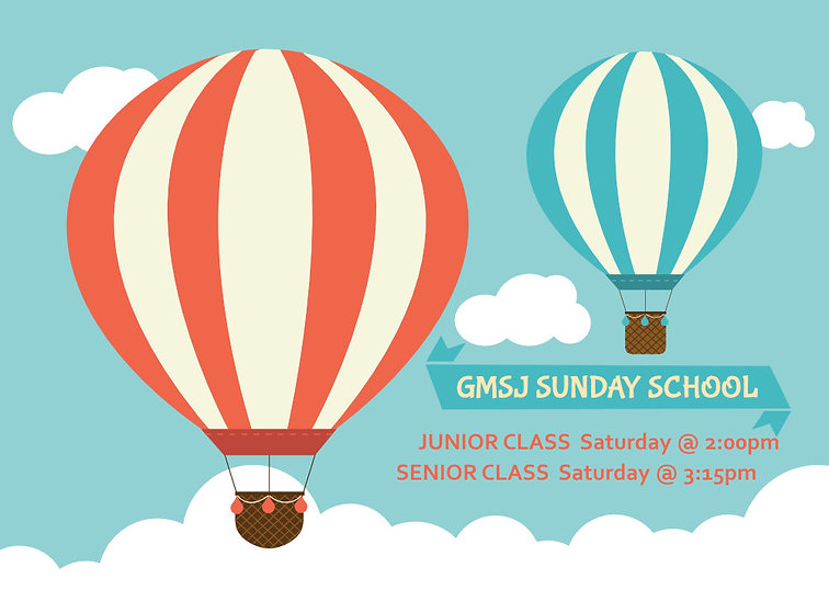Online Sunday School Invitation Graphics