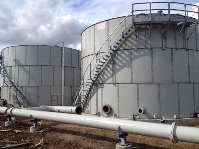 Denbury Alvin Texas 2 5000 bbl Saltwater Tanks .jpg
