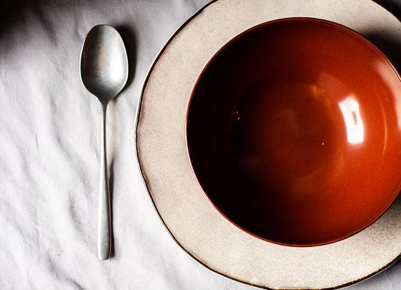 Čočková polévka, uzená krkovice
