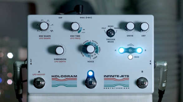Infinite Jets: Resynthesizer - Modulated Delay With Swell A
