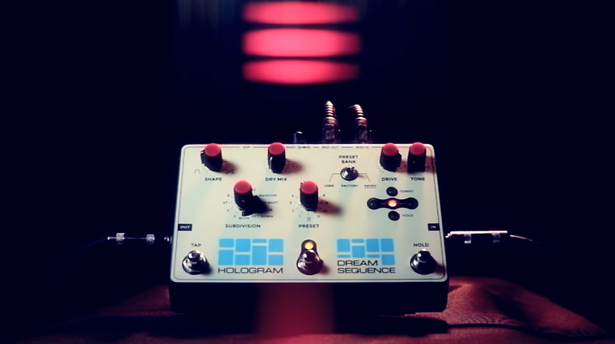 Hologram Electronics Dream Sequence Octave Tremolo Effects Pedal Demo