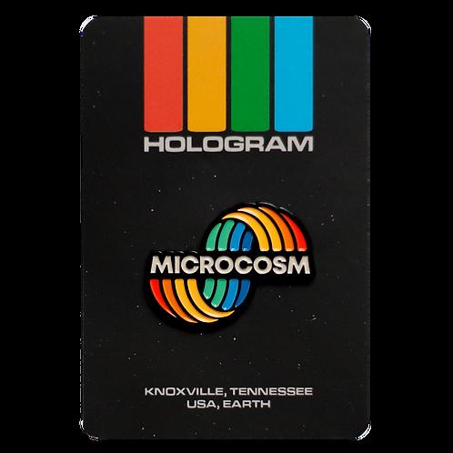 Microcosm Enamel Pin