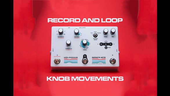Infinite Jets: Resynthesizer - Record and Loop Knob Movements