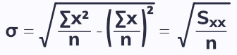Standard deviation, how to work out the standard deviation, variance and standard deviation. Free online A-Level maths notes. EngineeringNotes.net, EngineeringNotes, Engineering Notes.
