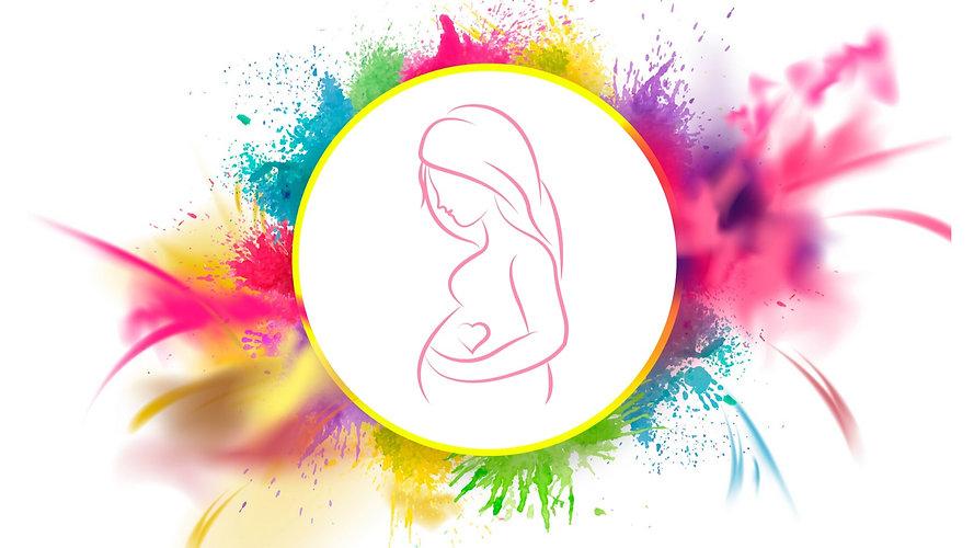 Logo Rayonner sa Maternité-Laetitia Le Quellec