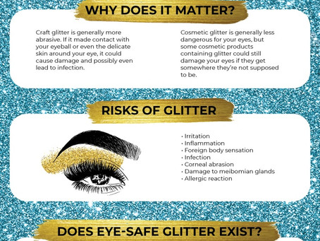 Glitter and Your Eyes: Here's what you need to know!