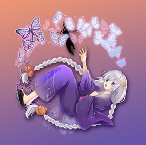 夜に惑う黄昏蝶