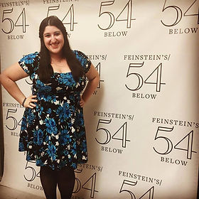 Jackie in her 54 Below debut