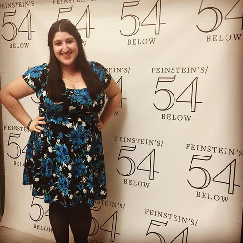 54 Below backstage