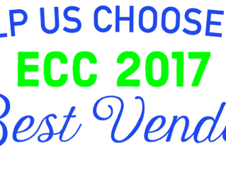Vote for 2017 ECC Best Vendor and enter to win a prize!