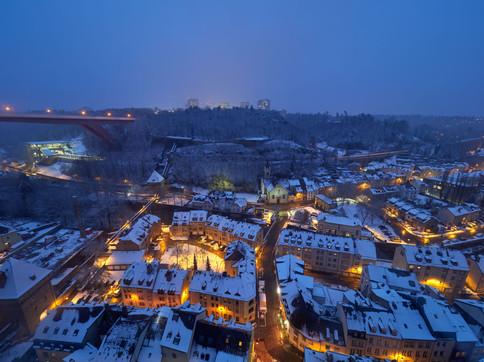 panorama Pfaffental winter
