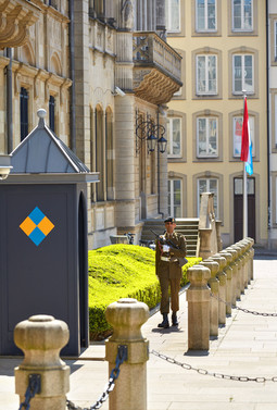 Palais grand-ducal -guard