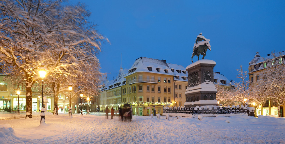Place Guillaume -winter