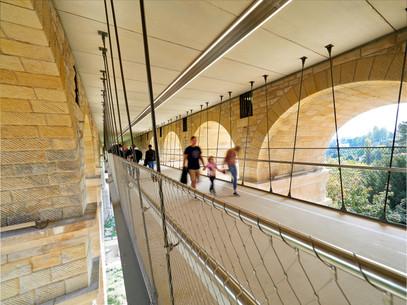 Pont Adolphe bycicle bridge